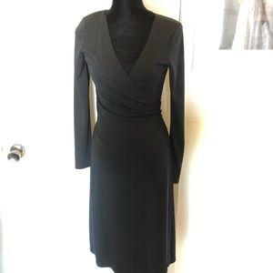 Kenneth Cole Black Wrap dress